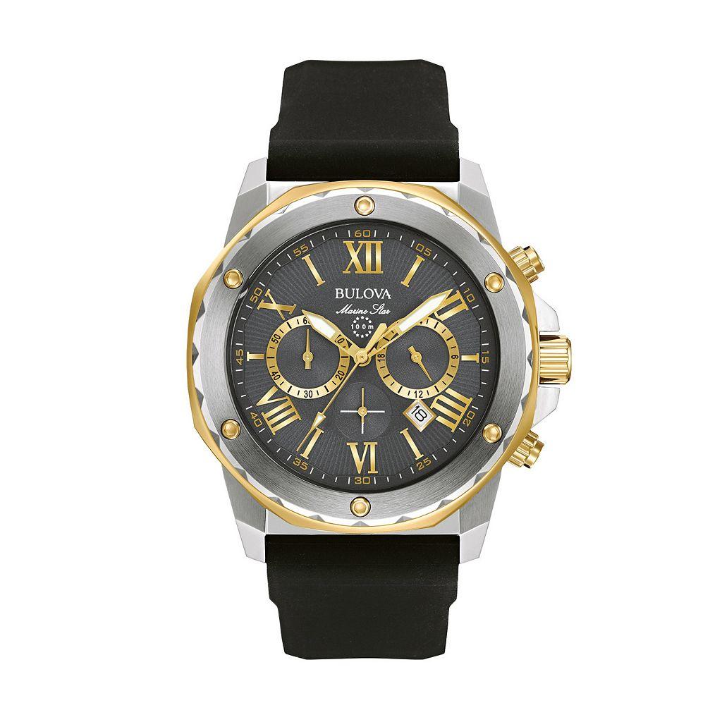 Bulova Men's Marine Star Chronograph Watch - 98B277