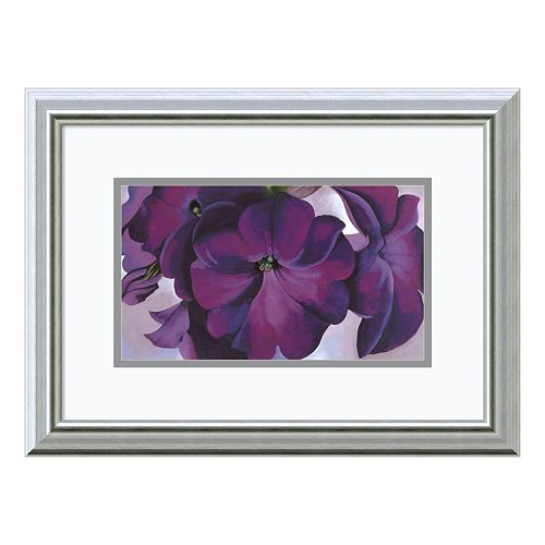 Amanti Art Petunias, 1925 Print Framed Wall Art by Georgia O'Keeffe