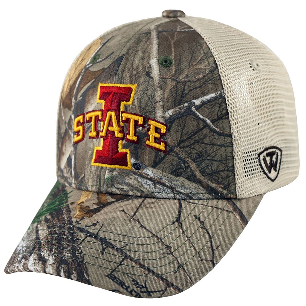 Adult Top of the World Iowa State Cyclones Prey Camo Adjustable Cap