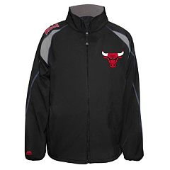 Big & Tall Majestic Chicago Bulls Bonded Softshell Jacket