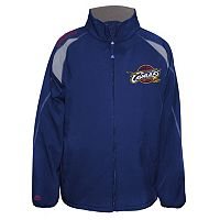 Big & Tall Majestic Cleveland Cavaliers Bonded Softshell Jacket