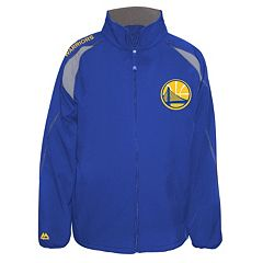 Big & Tall Majestic Golden State Warriors Bonded Softshell Jacket