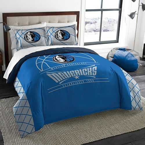 Dallas Mavericks Reverse Slam Full/Queen Comforter Set by Northwest