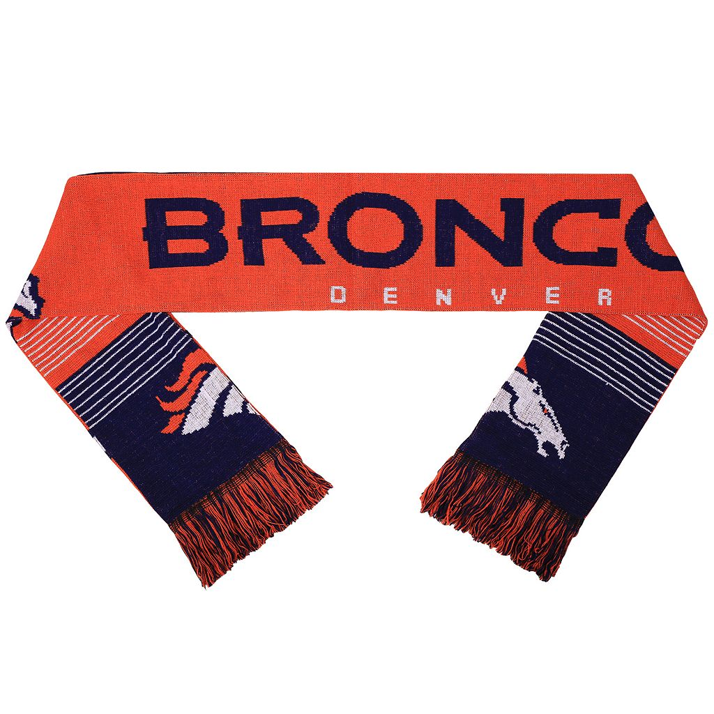Adult Forever Collectibles Denver Broncos Reversible Scarf
