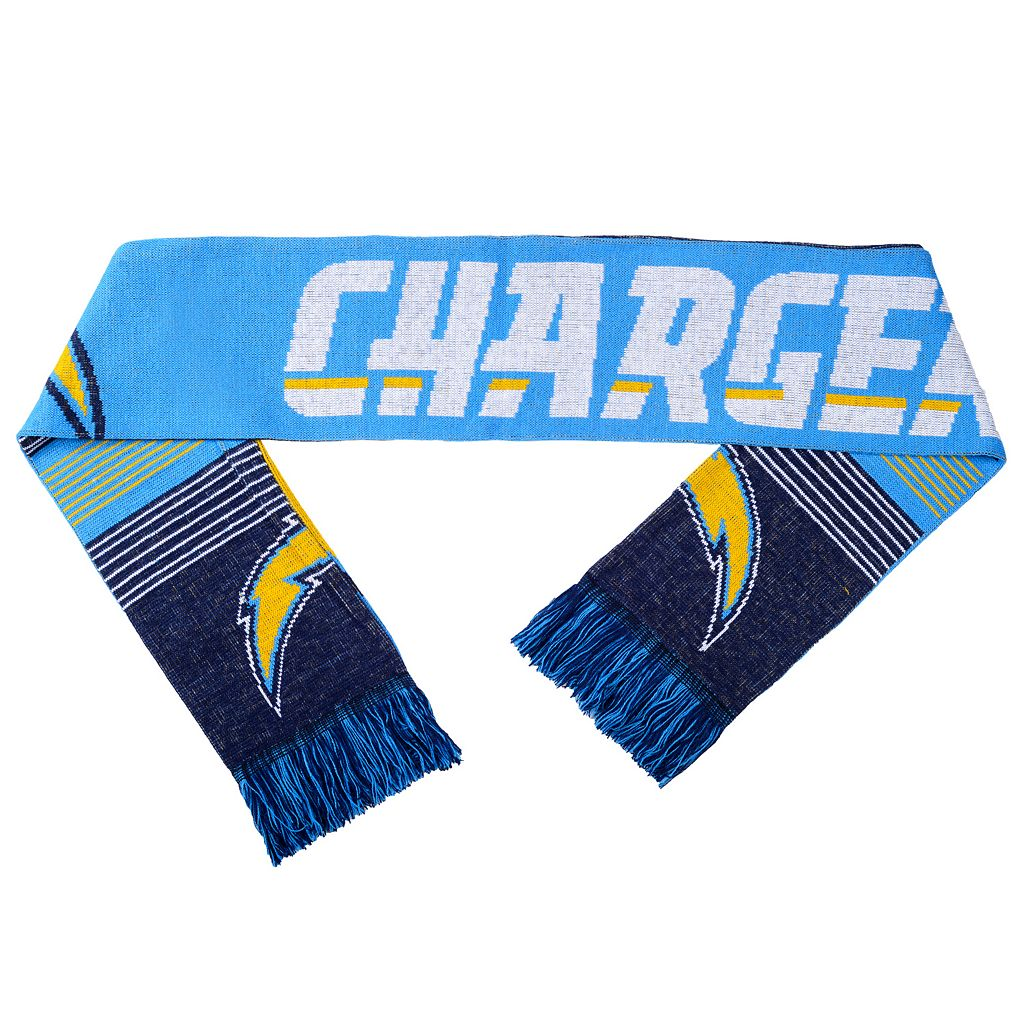Adult Forever Collectibles San DiegoChargers Reversible Scarf