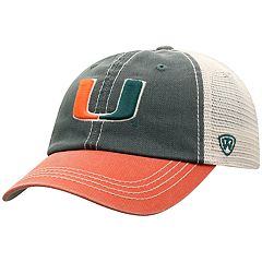 Adult Top of the World Miami Hurricanes Offroad Cap