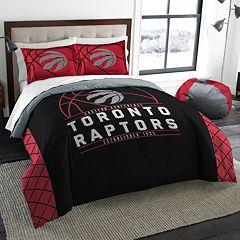Toronto Raptors Reverse Slam Full/Queen Comforter Set by Northwest
