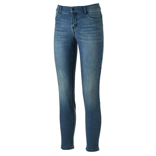 Women's Juicy Couture Flaunt It Faded Skinny Jeans