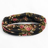 Mudd® Rose Print Head Wrap