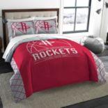 Houston Rockets Reverse Slam Full/Queen Comforter Set by Northwest