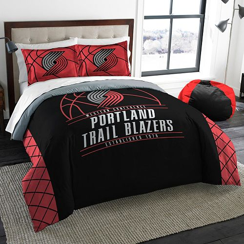 Portland Trail Blazers Reverse Slam Full/Queen Comforter Set by Northwest