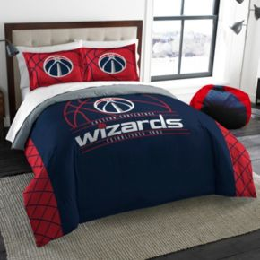 Washington Wizards Reverse Slam Full/Queen Comforter Set by Northwest