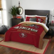San Francisco 49ers Draft Full/Queen Comforter Set by Northwest