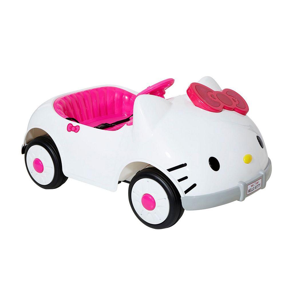 Hello Kitty® 6V Kitty Ride-On Car
