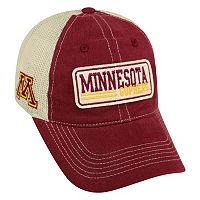 Adult Top of the World Minnesota Golden Gophers Patches Adjustable Cap