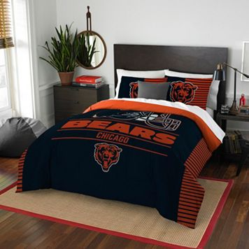 Chicago Bears Draft Full/Queen Comforter Set by Northwest