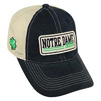 Adult Top of the World Notre Dame Fighting Irish Patches Adjustable Cap