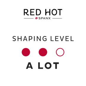 Red Hot by Spanx Luxe & Lean Open Bust Mid-Thigh Body Shaper 10116R