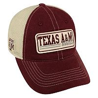 Adult Top of the World Texas A&M Aggies Patches Adjustable Cap
