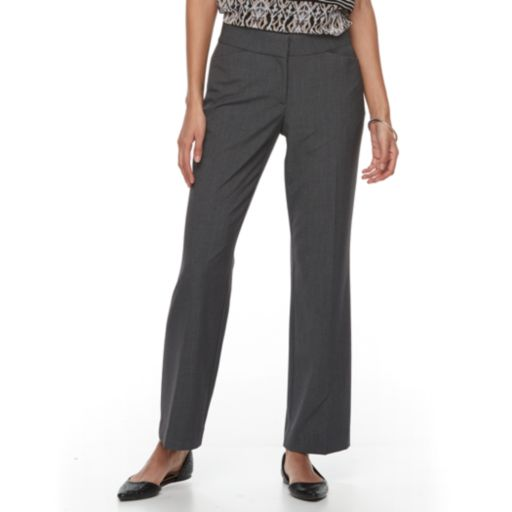 Petite Dana Buchman Curvy Fit Dress Pants