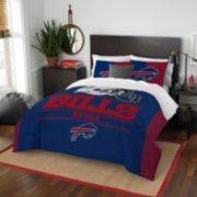 Buffalo Bills Draft Full/Queen Comforter Set by Northwest