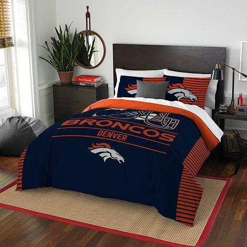 Denver Broncos Draft Full/Queen Comforter Set by Northwest