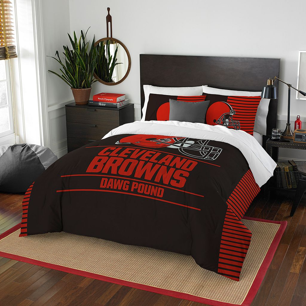 Cleveland Browns Draft Full/Queen Comforter Set by Northwest