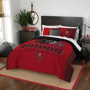 Tampa Bay Buccaneers Draft Full/Queen Comforter Set by Northwest