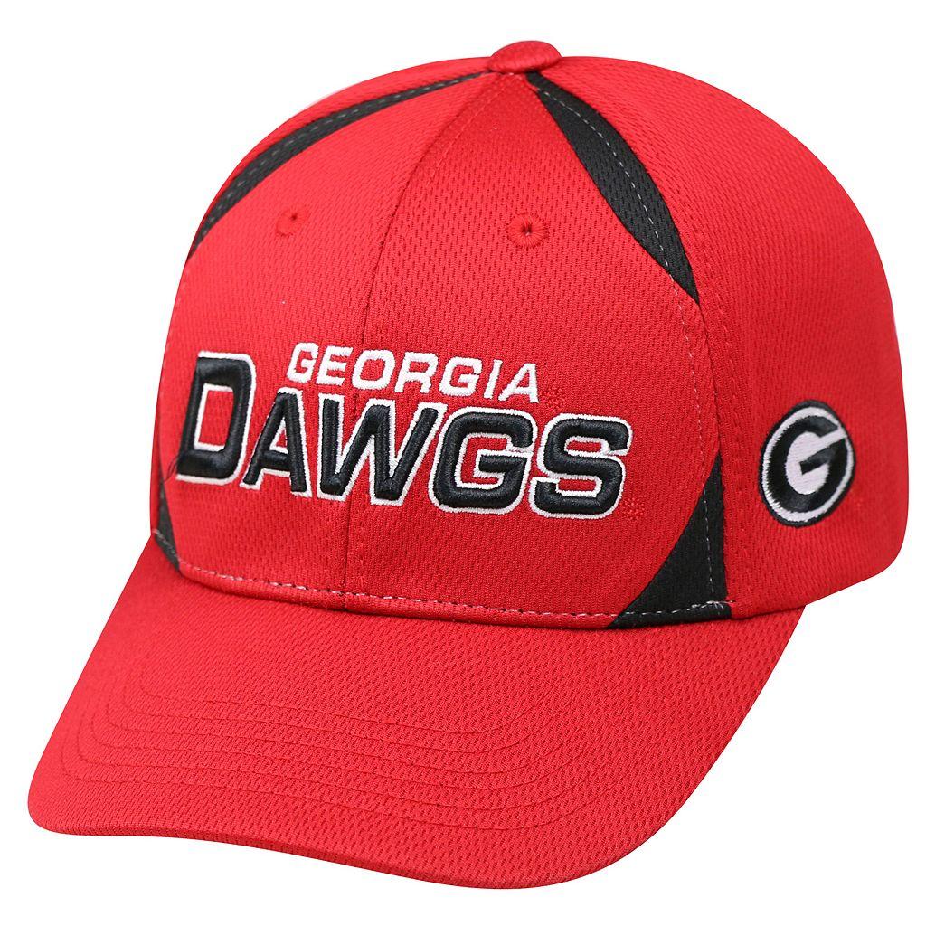 Adult Top of the World Georgia Bulldogs Pursue Adjustable Cap