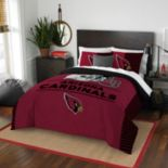 Arizona Cardinals Draft Full/Queen Comforter Set by Northwest