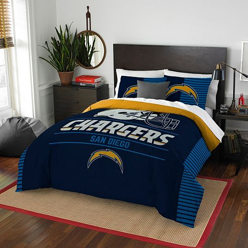 San Diego Chargers Bedding: San Diego Chargers Draft Full/Queen Comforter Set By Northwest