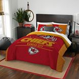 Kansas City Chiefs Draft Full/Queen Comforter Set by Northwest