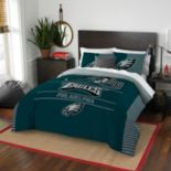 Philadelphia Eagles Draft Full/Queen Comforter Set by Northwest
