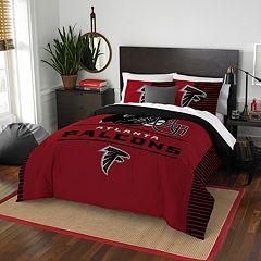 Atlanta Falcons Draft Full/Queen Comforter Set by Northwest