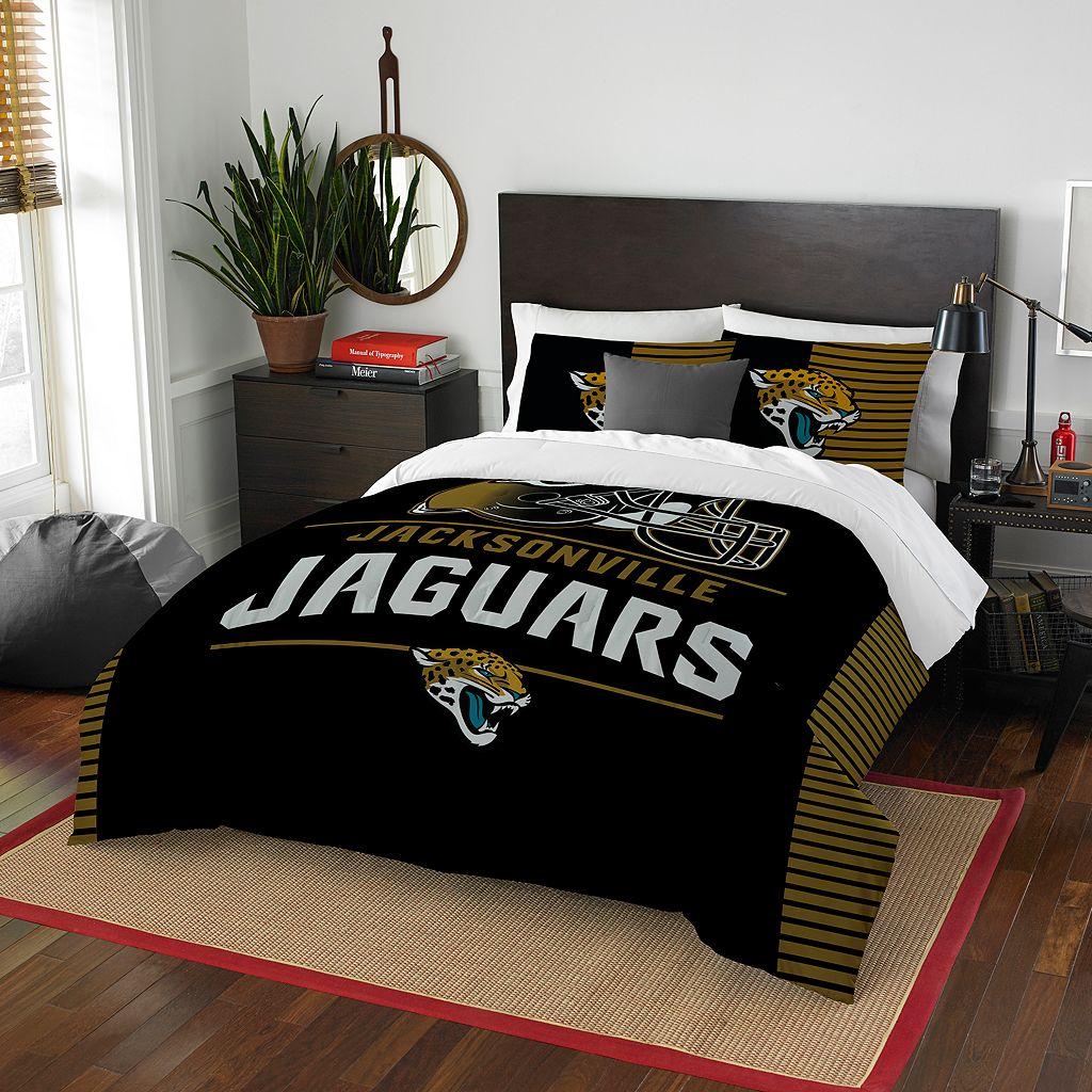 Jacksonville Jaguars Draft Full/Queen Comforter Set by Northwest