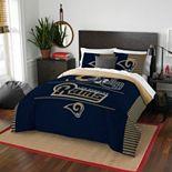 Los Angeles Rams Draft Full/Queen Comforter Set by Northwest