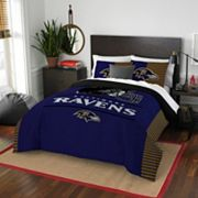 Baltimore Ravens Draft Full/Queen Comforter Set by Northwest