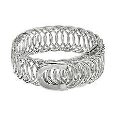 Circle Link Coil Bracelet