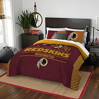 Washington Redskins Draft Full/Queen Comforter Set by Northwest