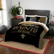 New Orleans Saints Draft Full/Queen Comforter Set by Northwest