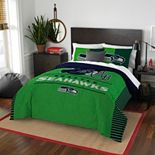Seattle Seahawks Draft Full/Queen Comforter Set by Northwest