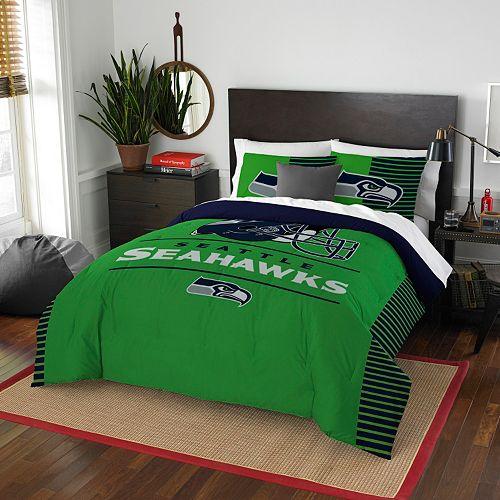 Seattle Seahawks Draft Full/Queen Comforter Set by Northwest