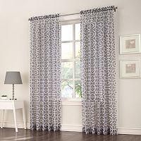 No918 Ashlea Trellis Curtain