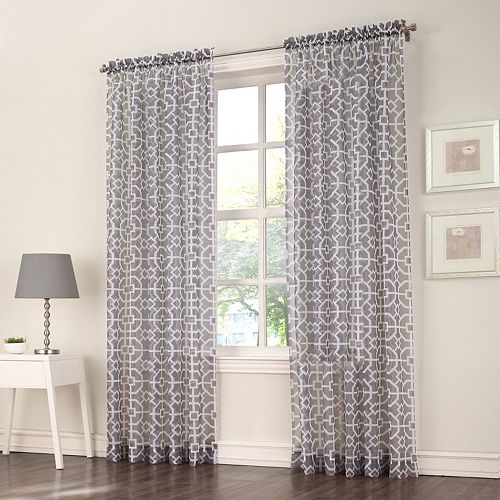 No918 Ashlea Trellis Curtain