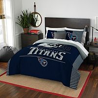 Tennessee Titans Draft Full/Queen Comforter Set by Northwest