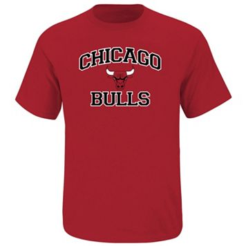 Big & Tall Majestic Chicago Bulls Heart and Soul II Tee