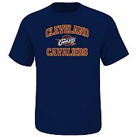 Big & Tall Majestic Cleveland Cavaliers Heart and Soul II Tee