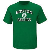 Big & Tall Majestic Boston Celtics Heart and Soul II Tee
