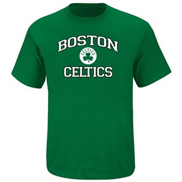 Big & Tall Majestic Boston Celtics Heart and Soul II Tee