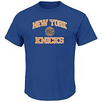 Big & Tall Majestic New York Knicks Heart and Soul II Tee